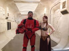 Reaper And Slave Leia