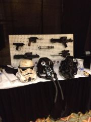 Weapons And Helmets