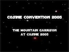 COSine '05