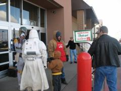 Salvation Army Bell Ringing; Loveland, CO