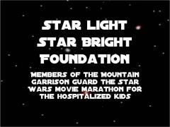 Starlight Foundation Star Wars movie Marathon July 16