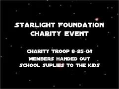 Starlight Foundation Troop 25 Aug