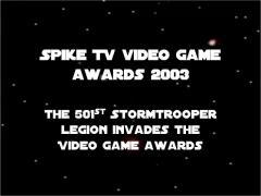 Spike TV video game awards 2003