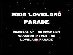 Loveland Parade July 30 2005