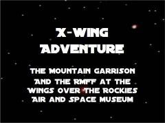 X-wing adventure